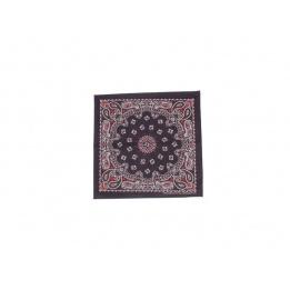 Bandana Headscarf noir et rouge
