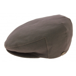 Edinburgh Cotton Taupe Cap - Mtm