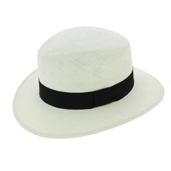 En liquidation nouvelles promotions emballage fort Chapeau Panama Las Perlas Blanc - City Sport