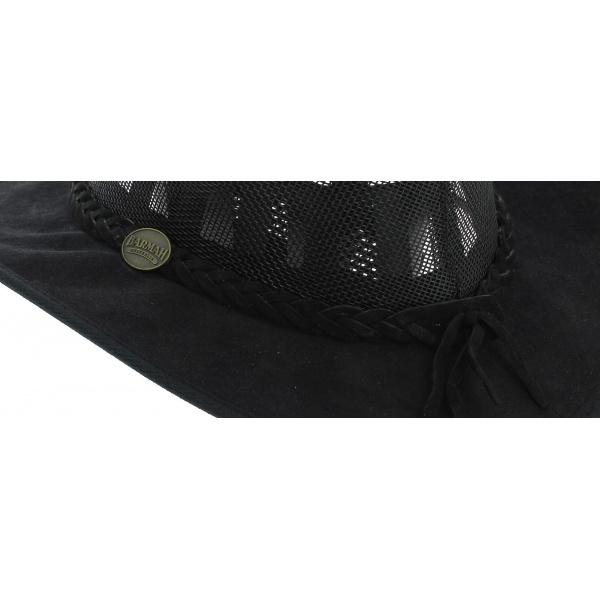 Australian Foldaway Cooler Black Hat - Barmah