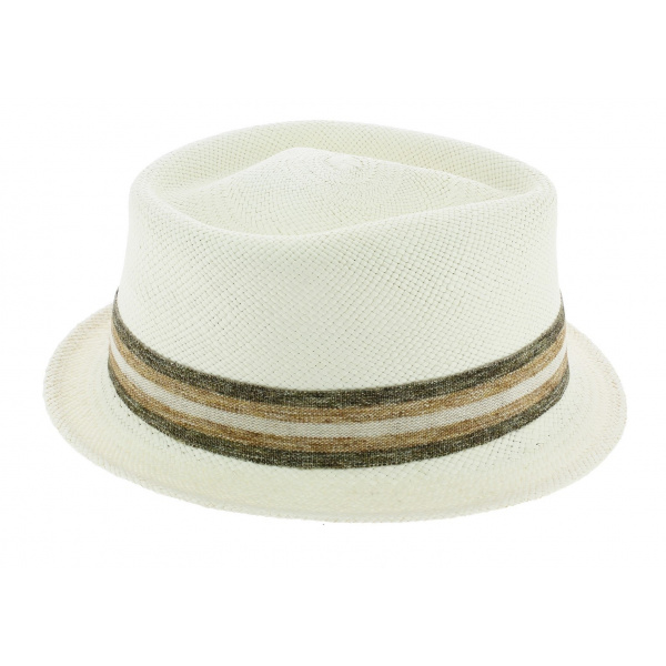 Chapeau Trilby Petit Bords Chico Panama - Seeberger