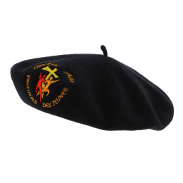 Basque beret embroidery