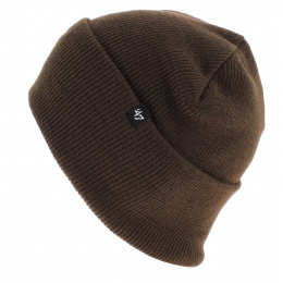Brown NY Yankees Acrylic Beanie - 47 Brand