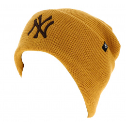 Bonnet Marron NY Yankees Acrylique - 47 Brand