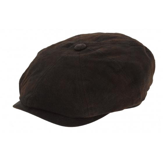 Hatteras stetson leather cap