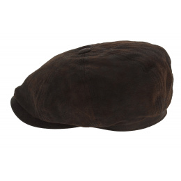 Hatteras stetson leather cap