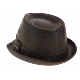 Chapeau trilby cuir  Radcliff - Stetson