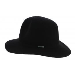 Western Atlanta Black Wool Felt Hat - Stetson