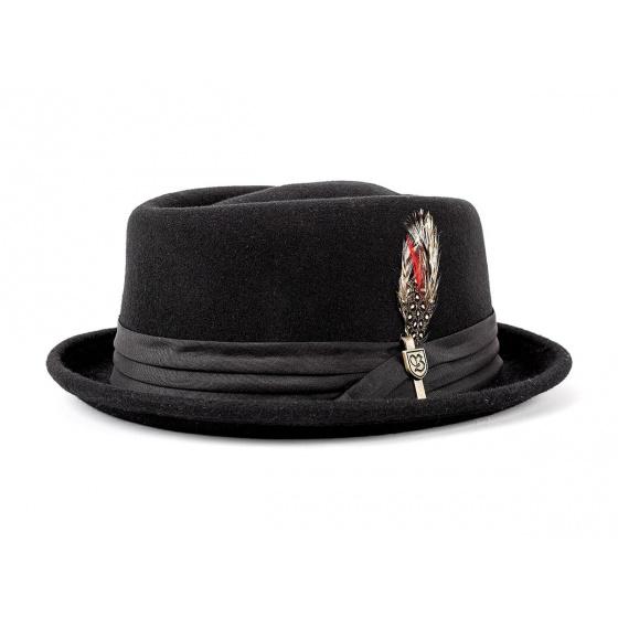 Chapeau Stout brixton noir