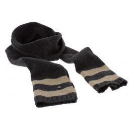Two-tone Rollin Wool Scarf - Stetson
