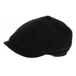Hatteras Baron Hat Black Wool Cap - Stetson