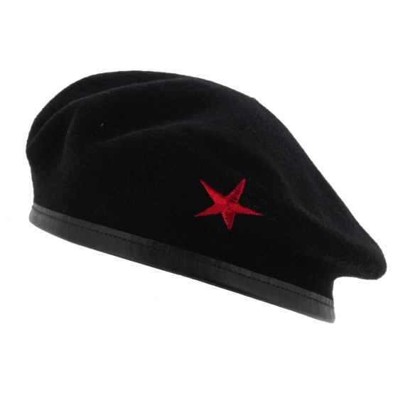 Béret Che Guevara étoile rouge
