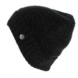 Black Acrylic Candice Short Cap - Barts