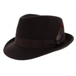 Chapeau feutre Elkader Marron - Stetson