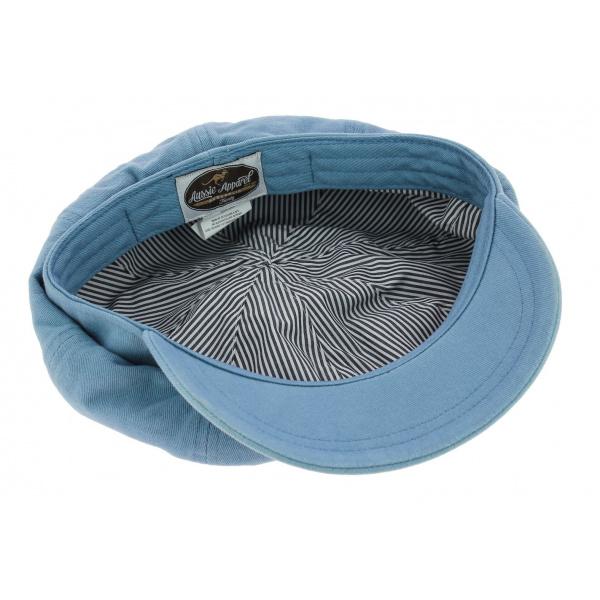 Casquette Gavroche Cruz Coton Bleu-Ciel - Aussie Apparel