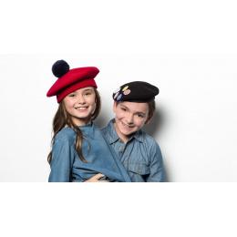 Béret enfant Pin's- Héritage par Laulhère