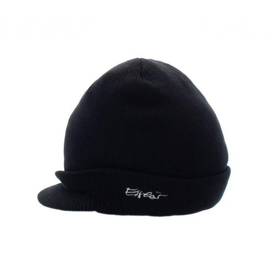 Otto Acrylic Cap Hat Black - Eisbär