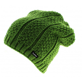 Bonnet basic oversize vert Eisbär