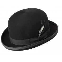 Chapeau Derby Melon Noir- Bailey