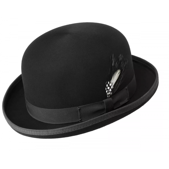 Tino Black Trilby Bailey hat