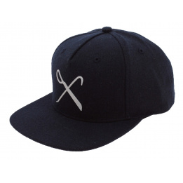 Flat Cap Snapback Hard Graft Marine Wool King Apparel