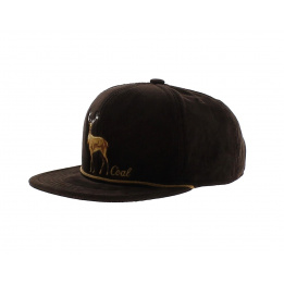 Cap Stag visor plate - The Wilderness - Coal