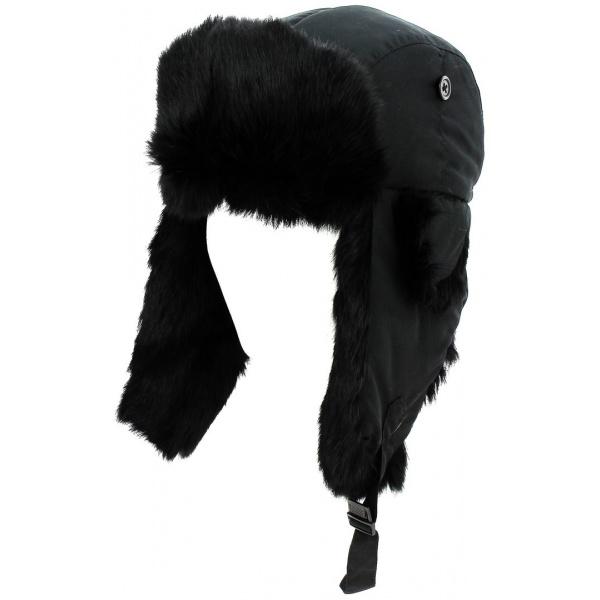 Chapka Nera Fourrure Noire