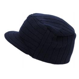 Bonnet casquette Tribe marine