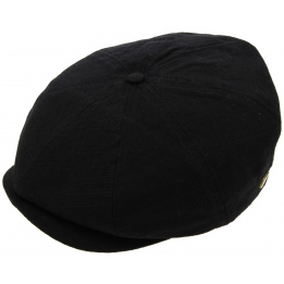 Casquette Brood Washed Noir