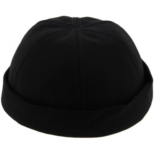 Miki Docker Summer Cooper Cotton Black Cotton Cap