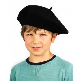 Beret Enfant Black