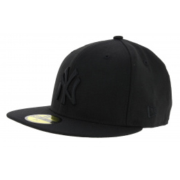 Snapback Black on Black NY Yankees Black Cap - New Era
