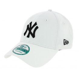 Casquette Baseball League Basic Strapback Yankees Of NY Blanc - New Era