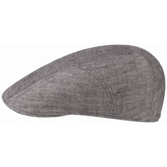 Madison flat cap - Stetson - Linen