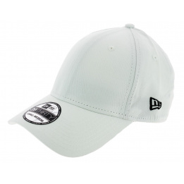 Baseball Cap Fitted Basic 39 White - New Era