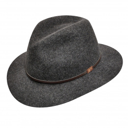 Chapeau traveller Jackman gris Bailey
