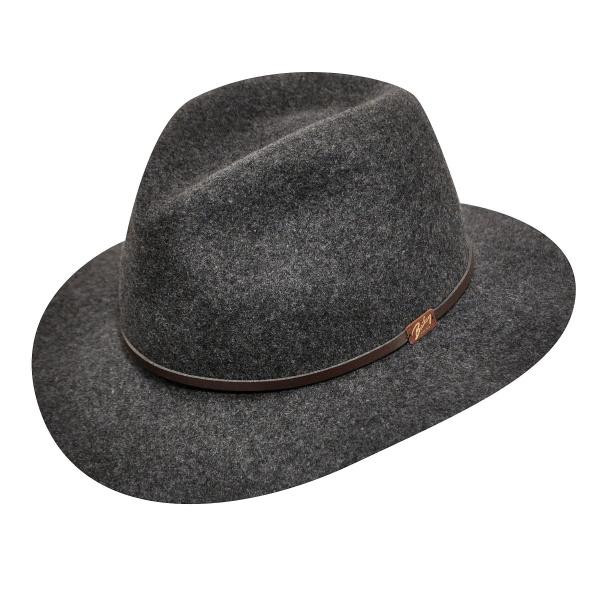 Chapeau feutre bicolore - Fléchet