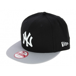 Snapback Block Cap NY Bicolored Cotton - New Era