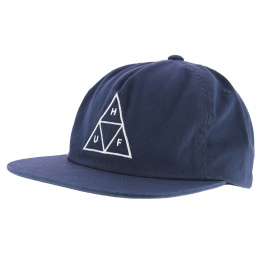 Black Strapback Elevated Cap - Official