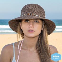 Chapeau Cloche Indie - Marron