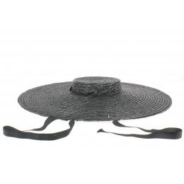 Chapeau Provençal enfant noir