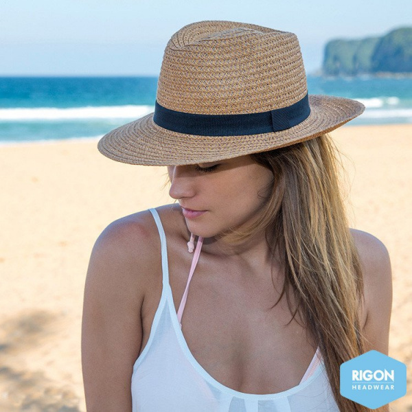Apache Traveller Hat Natural Fibers - Rigon Headwear