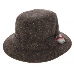 Bob Hiver Wexford Laine Vierge Marron - Hanna Hats