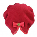 Wool Split Back Beret