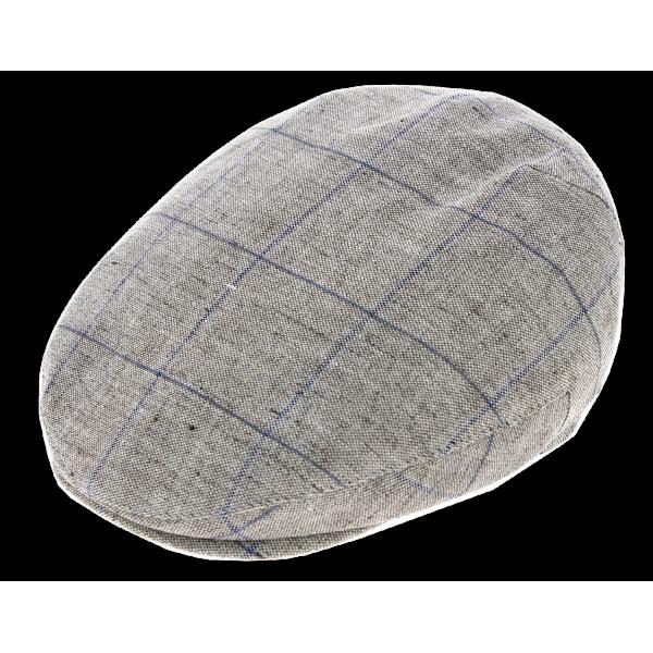 Casquette Plate Picadilly Lin Gris - Göttmann