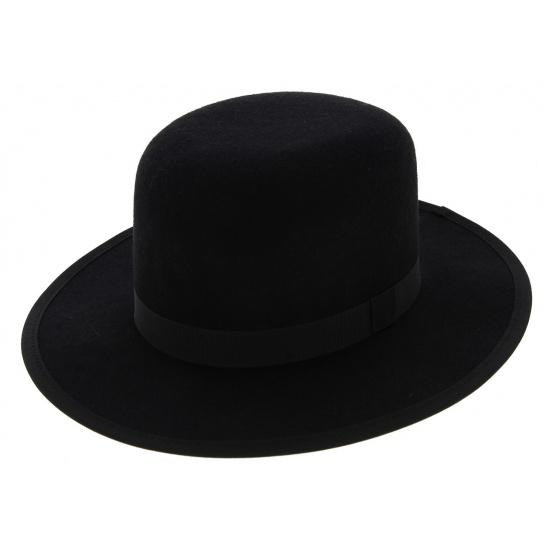 MiddleWest Felt Wool Hat Black - Traclet