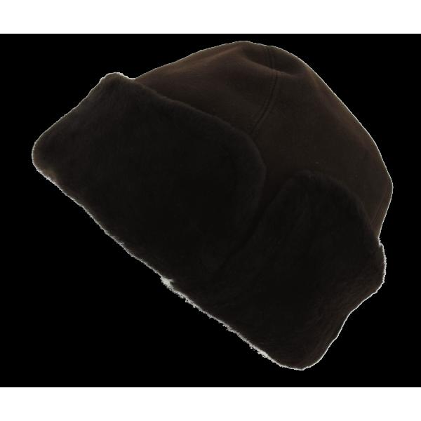 4ac5c68a9 Bonnet Pompon Fourrure Laine Eden Gris - Eisbär