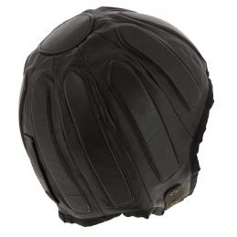 Casque Automobile Helmet Cuir Marron - Aussie Apparel