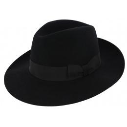 Felt borsalino hat Vanzina Black