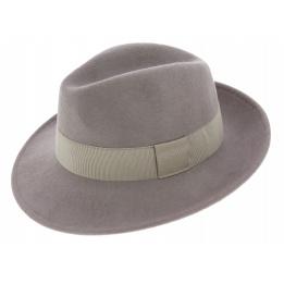 Fedora Hat Felt Felt Wool Vanador Grey - Traclet